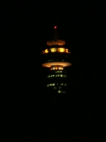 - Hillbrow Tower at night